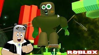 Zombili Dev Adamdan Kaçış!! - Panda ile Roblox Survive The Disasters 2
