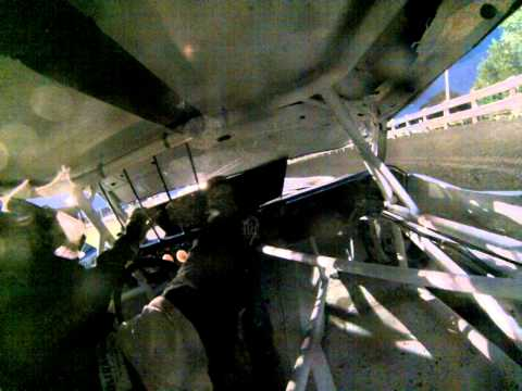 #46 roll over at Algona Raceway  07-01-14