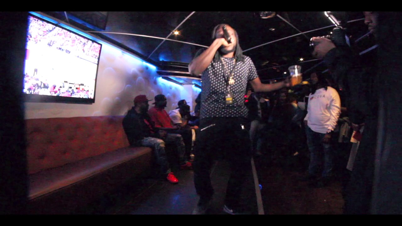Kasha Rhyma Performing in Washington Dc.@ Pure's Lounge