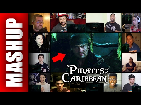 PIRATES OF THE CARIBBEAN: Dead Men Tell No Tales Trailer 2 Reactions Mashup