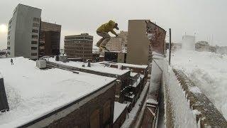 GoPro: Urban Snowboarding with Dan Brisse