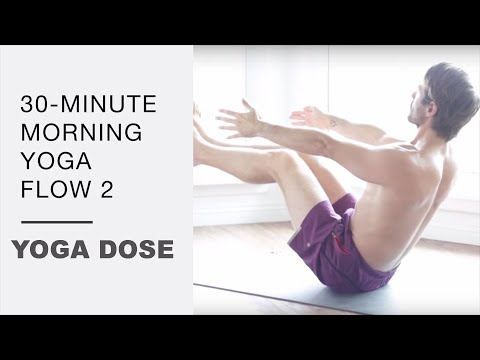 30 Minute Morning Yoga Flow 2 - Yoga With Tim Senesi