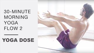 Video 30 Minute Morning Yoga Flow 2 - Yoga With Tim Senesi download MP3, 3GP, MP4, WEBM, AVI, FLV Maret 2018