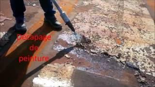 DECAPEUR LONG MANCHE LEGER vidéo
