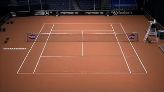 Heute mit Witthöft! Porsche Tennis Grand Prix - Tag 3 (Court 1) | WTA Stuttgart LIVE | Tennis | DAZN