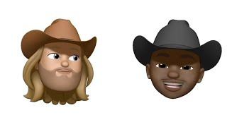 Lil Nas X - casco Antiguo Camino (feat. Billy Ray Cyrus) [Animoji Video]