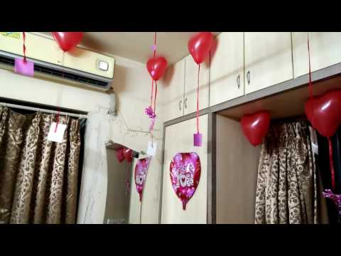 1st anniversary surprise for hubby