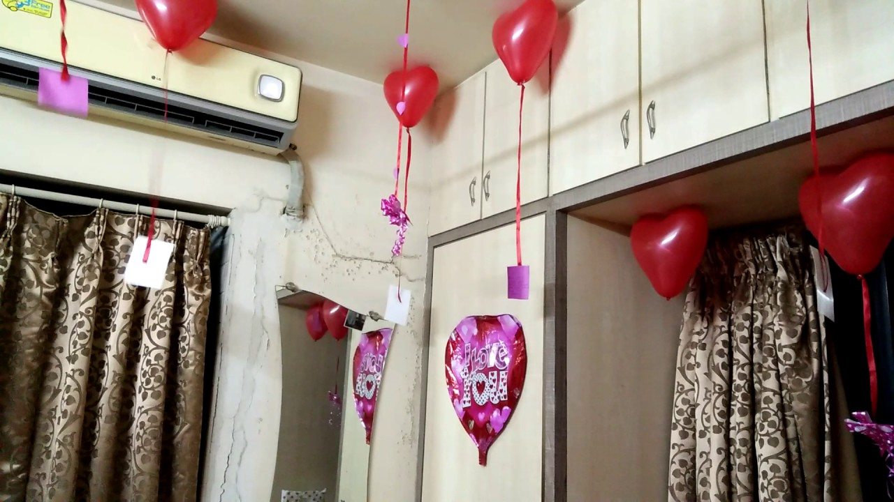 Delightful 1st Anniversary Surprise For Hubby