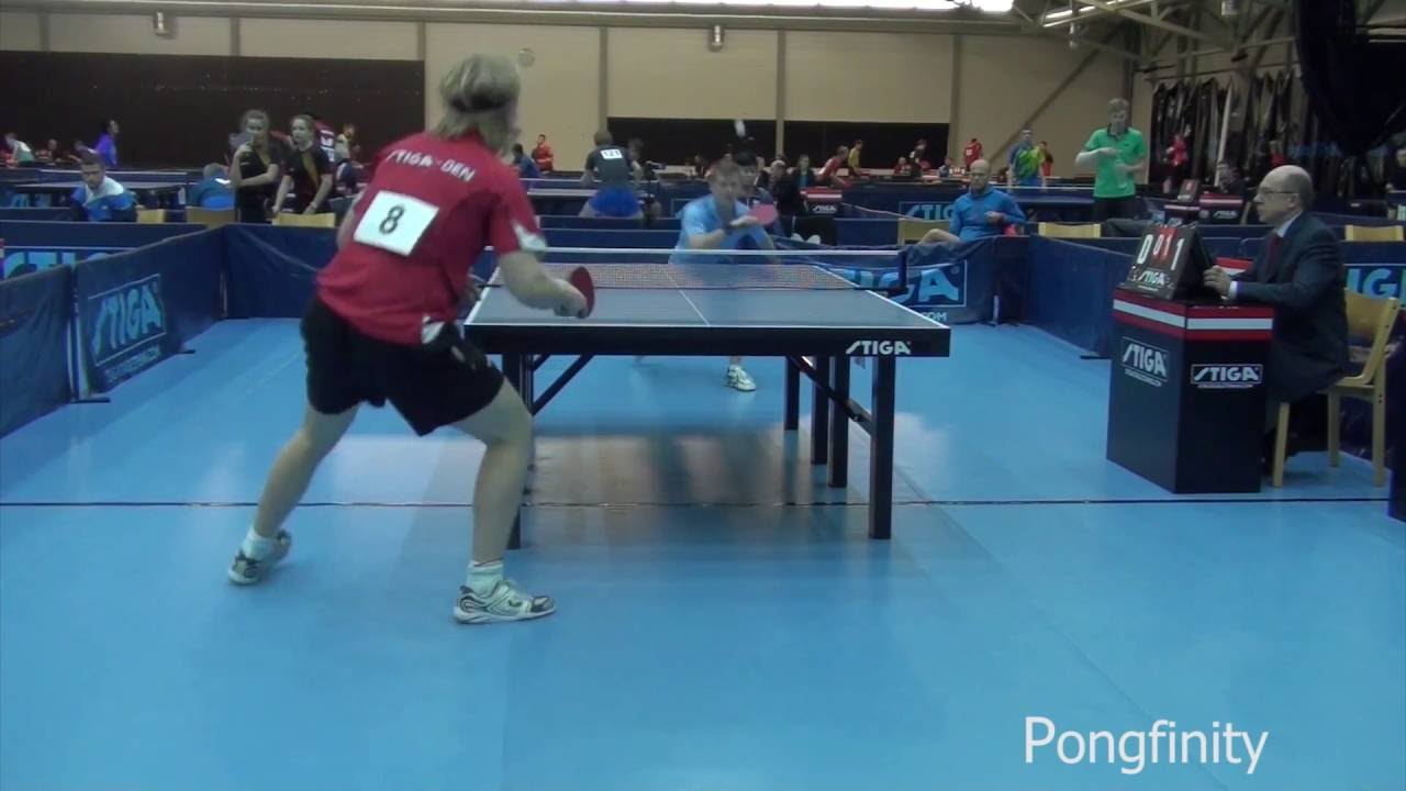 Crazy Table Tennis Shot