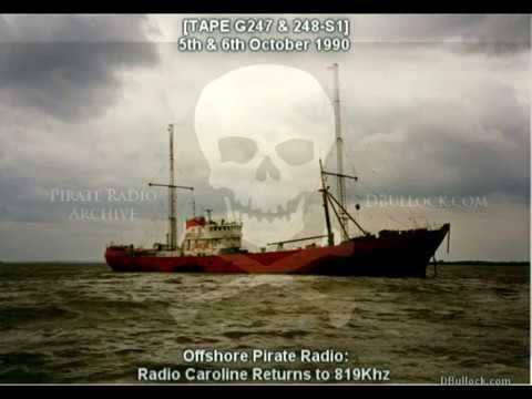 [G247-248-EDIT] Radio Caroline 819 ~ 05/10/1990 ~ Offshore Pirate Radio
