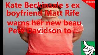 Kate Beckinsale s ex boyfriend Matt Rife warns her new beau Pete Davidson to ...