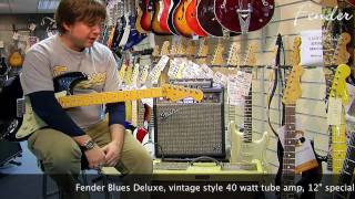 Fender Blues Deluxe Amp demo - Damon Chivers @ Nevada Music UK