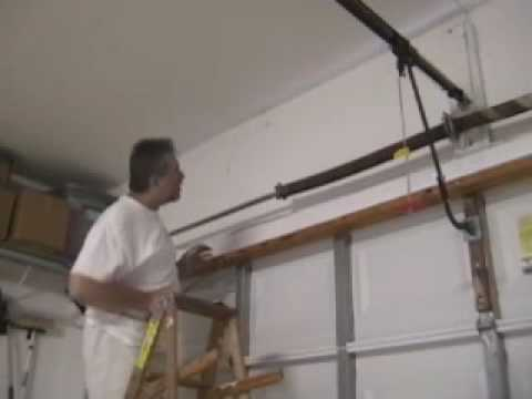 Diyclinic Garage Door Torsion Spring Replacement Part 1 Youtube