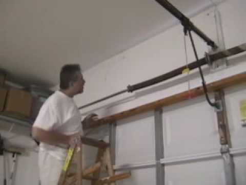 Garage Torsion Spring Replacement