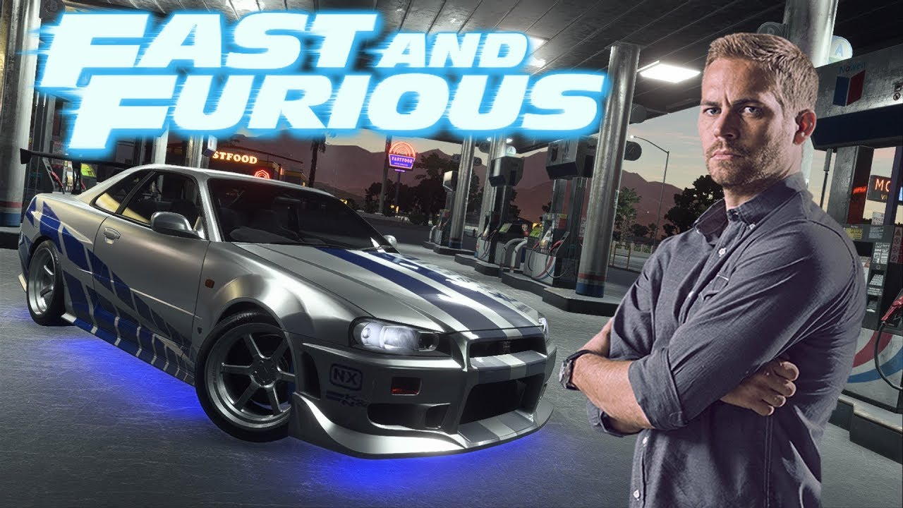 Need For Speed Payback Fast Amp Furious Brian O 180 Conner
