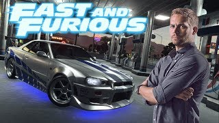 Need For Speed Payback Fast & Furious Bryan O´Conner Skyline GT R R34 1999´  READ DESCRIPTION