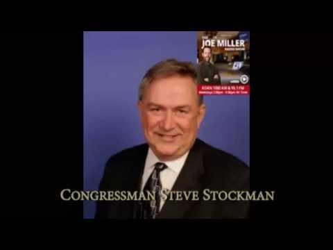"Congressman Steve Stockman: ""Obama has set the world ablaze"""