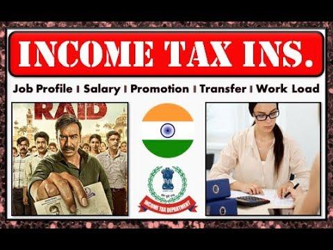 Income Tax Inspector (CBDT) || Post Preference || Job Profile || Promotion