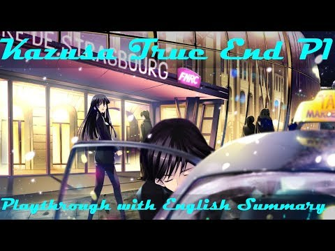 White Album 2 coda - Kazusa True End Summary & Playthrough part 1