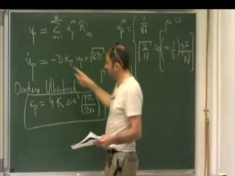 Cambridge short lecture 36 -Holcman- Analytical description of polymer models