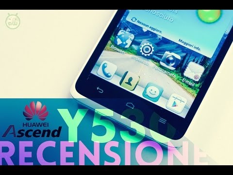 Huawei Ascend Y530, recensione in italiano