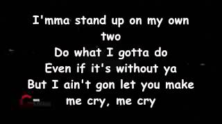 Brandy - Not Going To Make Me Cry (Lyrics)