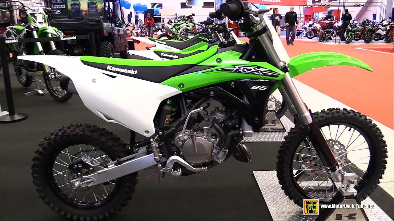 2015 kawasaki kx 85 walkaround 2015 salon moto de montreal youtube. Black Bedroom Furniture Sets. Home Design Ideas