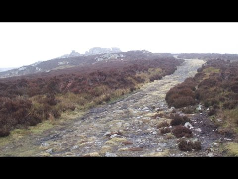 Stiperstones Country Ridge Walk Scenery - Shropshire Walks - Tour England Walking Holidays UK