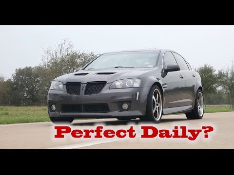 505 WHP Pontiac G8: Perfect Daily Driver?