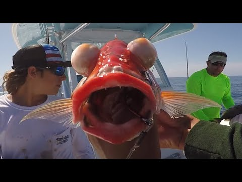 Rare 2 Million Feet Down Yellow Eyes Snapper Catch And Cook Best