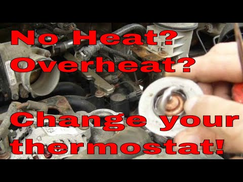 08 Ford F150 46 thermostat replacement, how to change thermostat on a Ford 46 F150  YouTube