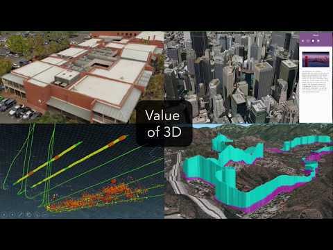 Leveraging 3D Across the ArcGIS Platform
