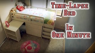 From Flat Pack To Bunk Bed - Time Lapse