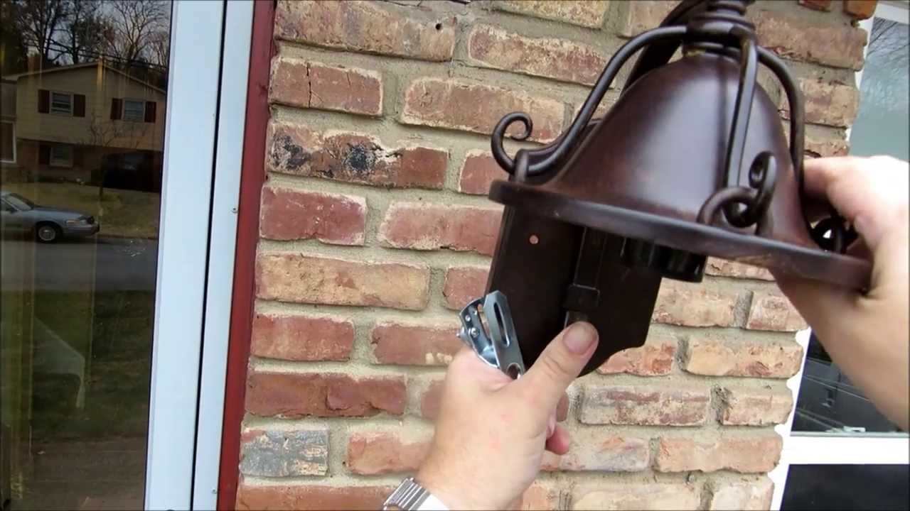 OMG How Hard is it to Install a Porch Light - YouTube