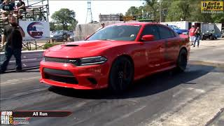 Day 1   HOT ROD Drag Week 2017 from Cordova International Raceway SRT Hellcat