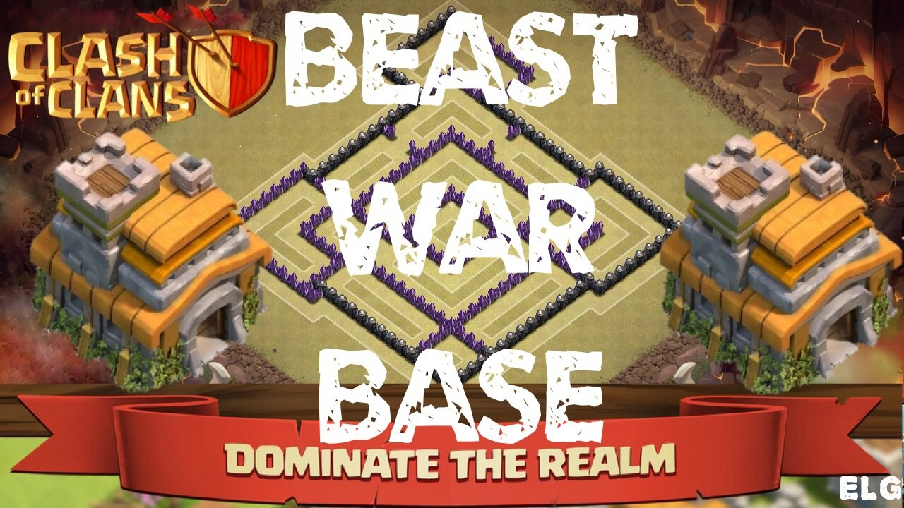 Clash of clans best town hall 7 clan war base trophy defensive base