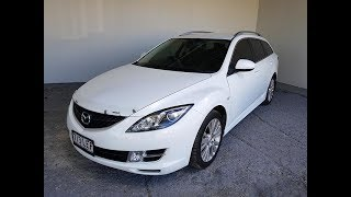 Automatic Cars. 4cyl Wagon Mazda 6 2008 Review For Sale