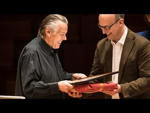 Mariss Jansons named honorary member of the Berliner Philharmoniker