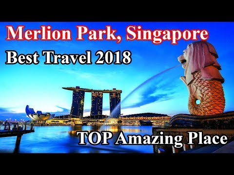 best travel, World destination visit guide to Merlion Park, Singapore