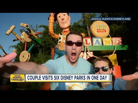 Lucy Lugnut - Couple Hits 6 Disney Parks On Both Coasts In One Day