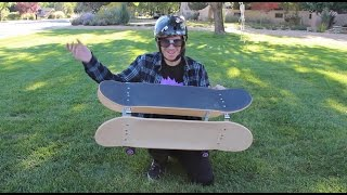 Melvin the Nerd building a wacky skateboard for Braille! Also contest!!