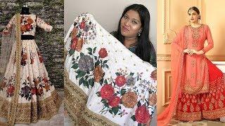Designer Floral Lehanga Choli ll Online Shop ll 12 May  2018