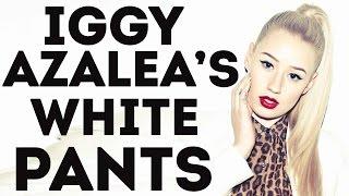 Iggy Azalea In Her Sexy White Pants  (Best Big Butt Rap Female In the World)