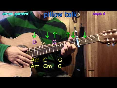 pillow talk zayn malik guitar chords