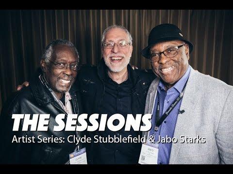 CLYDE STUBBLEFIELD & JABO STARKS  - Funk & Blues Drummer Duo (James Brown)