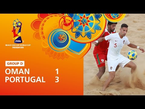 Oman v Portugal [Highlights] - FIFA Beach Soccer World Cup Paraguay 2019™