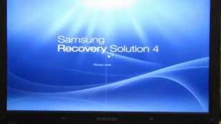 Как восстановить Windows на ноутбуке без установочного диска / Samsung Recovery Solution 4