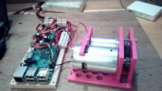 Тестирование шестеренок и мотора для мегасумоиста