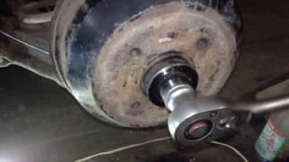 Opel Corsa B Замена тросиков ручника и их направляющих