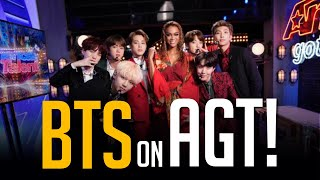 Download All BTS Performances on America's Got Talent + Backstage Footage!